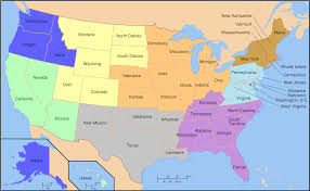 Map Of The Midwest Types Map Of United States Regions Ornamental Plant Information