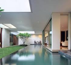 large swimming pool inside the home kerala home design is dream