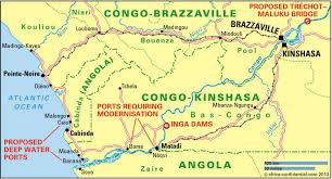 Congo Africa Map Congo River Basin Map Popular River 2017