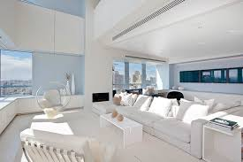White Interiors Homes by Stylish San Francisco Ritz Carlton Penthouse Could Be Yours For 8