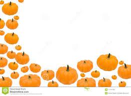 pumpkin border stock photo image 17147750