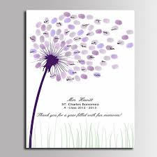 baby shower guest book ideas guest book fingerprint tree painting wedding decorations baby