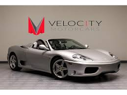 convertible ferrari 2004 ferrari 360 spider for sale in nashville tn stock f137008p