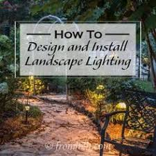 How To Do Landscape Lighting - swing hardware with a good looking knot house ideas