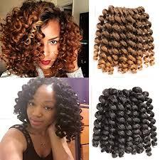 gg extensions alivovo crochet braids hair 4 packs lot jumpy wand curl 20