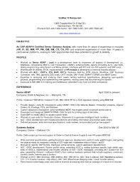 sle resume for business analyst profile resumes senior business intelligence developer resume resume