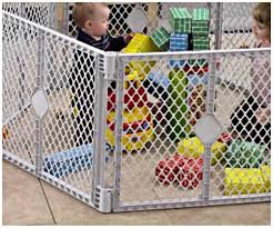 amazoncom play yard fence babies best choice products baby playpen