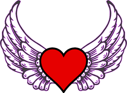 Hearts With Wings - wing clip at clker com vector clip royalty