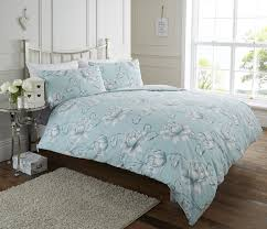Bedroom Design Ideas Duck Egg Blue Life From Coloroll Florabunda Duck Egg Duvet Ponden Homes