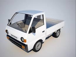 suzuki pickup 2014 carry 3d obj