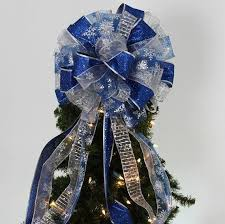 Decorate Christmas Tree With Bows by 14 Best Christmas Trees Images On Pinterest Silver Christmas