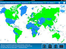 World Map Continents And Countries by Travel Goal Getter Travel Blog