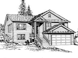 multi level home plans garden park split level home plan 071d 0239 house plans and more