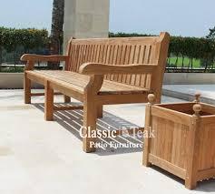 Commercial Outdoor Bench Teak Furniture Online For Patio U0026 Garden Classicteak Com
