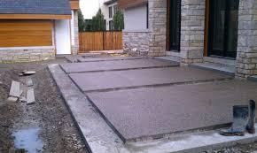 Exposed Aggregate Patio Stones Concrete Patios Mazza Company Concrete