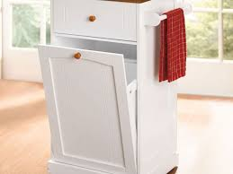 Kitchen Garbage Can With Lid by Kitchen 34 Kitchen Trash Can Regarding Awesome Shop Rev A Shelf