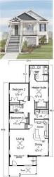Florida Cottage House Plans Narrow Lot House Plan 9997 Total Living Area 2321 Sq Ft 3