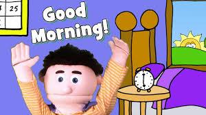 good morning song for kids youtube
