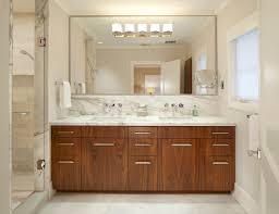 Decorating Ideas For Bathroom Mirrors Breathtaking Large Frameless Bathroom Mirrors Decorating Ideas