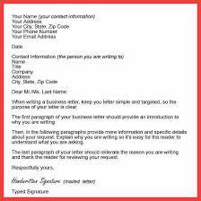 formal letter format sample memo example