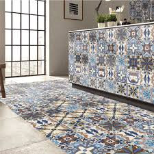 online get cheap floor wall tiles aliexpress com alibaba group waterproof pvc self adhesive tiles floor wall stickers mosaics art decal flowers murals kitchen home room