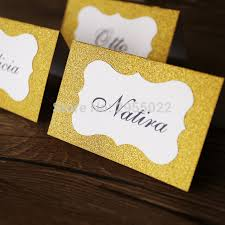 gold wedding table numbers glitter gold wedding table numbers party table number cards