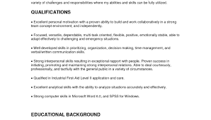 child care resume objective examples child care resume skills