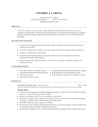 Core Skills Resume Resume Trading Resume For Your Job Application
