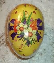 german paper mache easter eggs beautiful german paper mache easter egg box erzgebirge germany 4 5