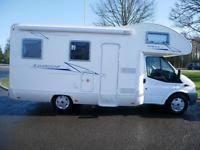 6 berth motorhome in scotland campervans u0026 motor homes for sale