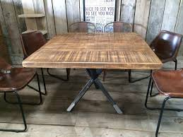 plank dining room table beautiful handmade dining room tables and vintage industrial