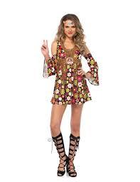 foto hippie figli dei fiori vestito hippie figlia dei fiori su vegaooparty negozio di
