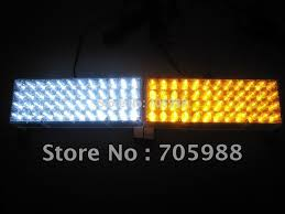 snow plow strobe lights white and amber 96led snow plow car boat truck warning emergency