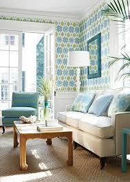 canap bleu ciel plonger dans la couleur turquoise et colorer la maison