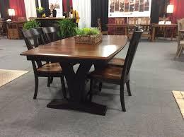 Solid Wood Paris Trestle Dining Table - Trestle kitchen table
