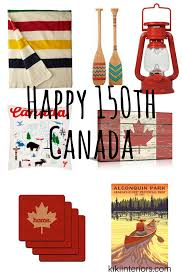Home Decorations Canada Happy 150th Canada Home Decor Interiorsbykiki Com