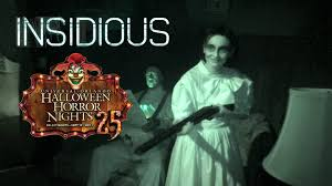 universal halloween horror nights insidious haunted house maze walk through halloween horror nights