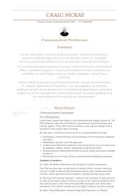 Management Consulting Resume Examples by Communications Consultant Resume Samples Visualcv Resume Samples