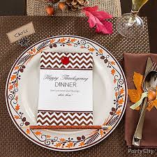 give thanks dinner card idea thanksgiving rustic decorating