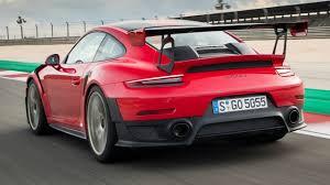 singer porsche red 2018 red porsche 911 gt2 rs exhaust sound 700 hp 750 nm youtube