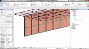 Revit Curtain Panel 03 Mesh Perforated Panel Curtain Wall Youtube
