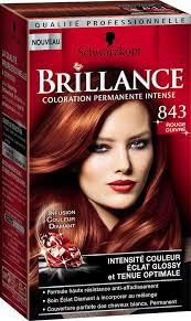cheveux rouge acajou schwarzkopf brillance milan fashion week rouge cuivré 843