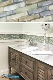 Tile Borders For Kitchen Backsplash by Our Client Used This Backsplash Tile As A Chair Rail Border