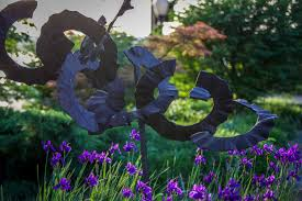 an artist s backyard visiting the national ornamental metal
