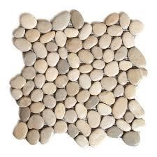 river rock tile full image for compact river rock tile backsplash