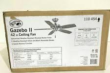 hton bay gazebo ii 42 in indoor outdoor ceiling fan hton bay gazebo ii 42 in indoor outdoor white ceiling fan 113102