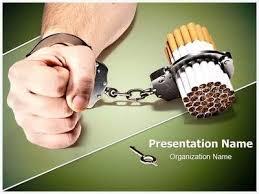 free smoking powerpoint template presentation magazine smoking