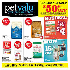 pet valu weekly flyer january 2017 clearance sale jan 12