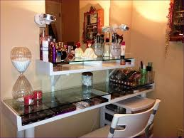 furniture vanity table with mirror and lights bathroom light