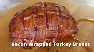 boneless turkey bacon wrapped turkey breast smoked boneless turkey breast on big
